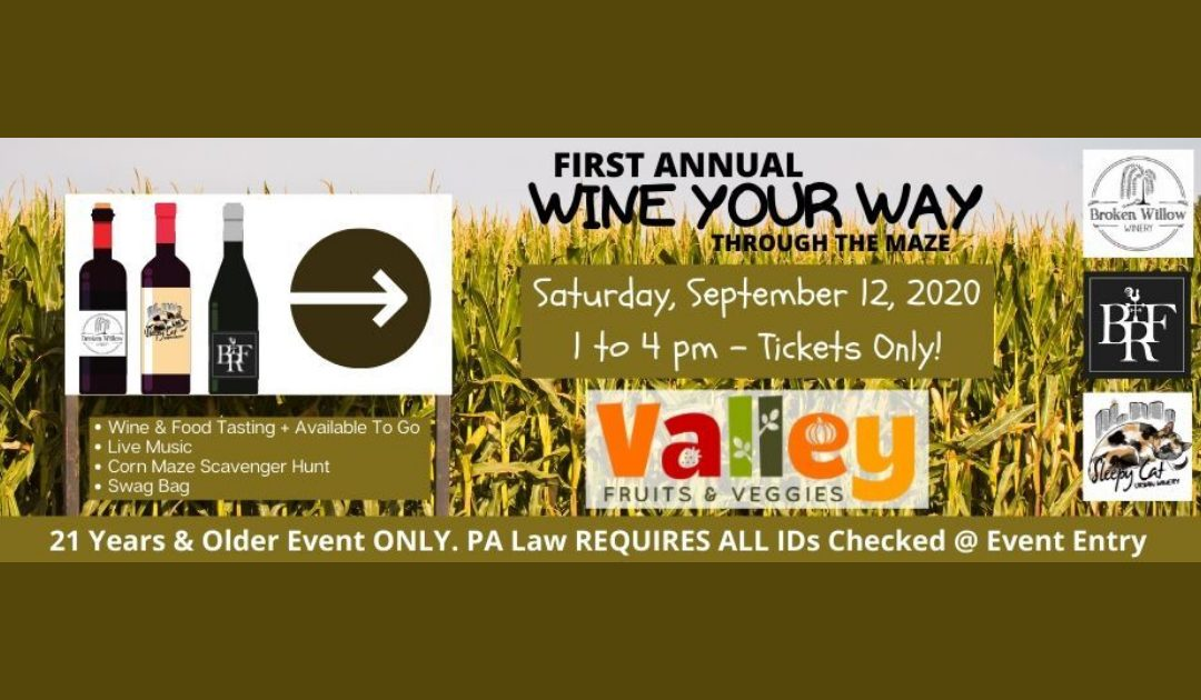 Wine Your Way Through the Maze